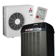 Air Conditioning Systems we service repair and install.