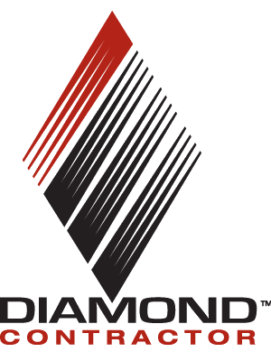 We are certified Diamond Contractors