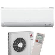 Mitsubishi mini splits are incredibly efficient heating and cooling systems.