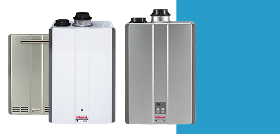 Tankless water heaters are incredibly efficient!
