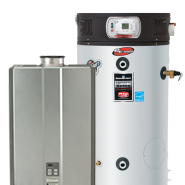 Water heating systems we service repair and install.